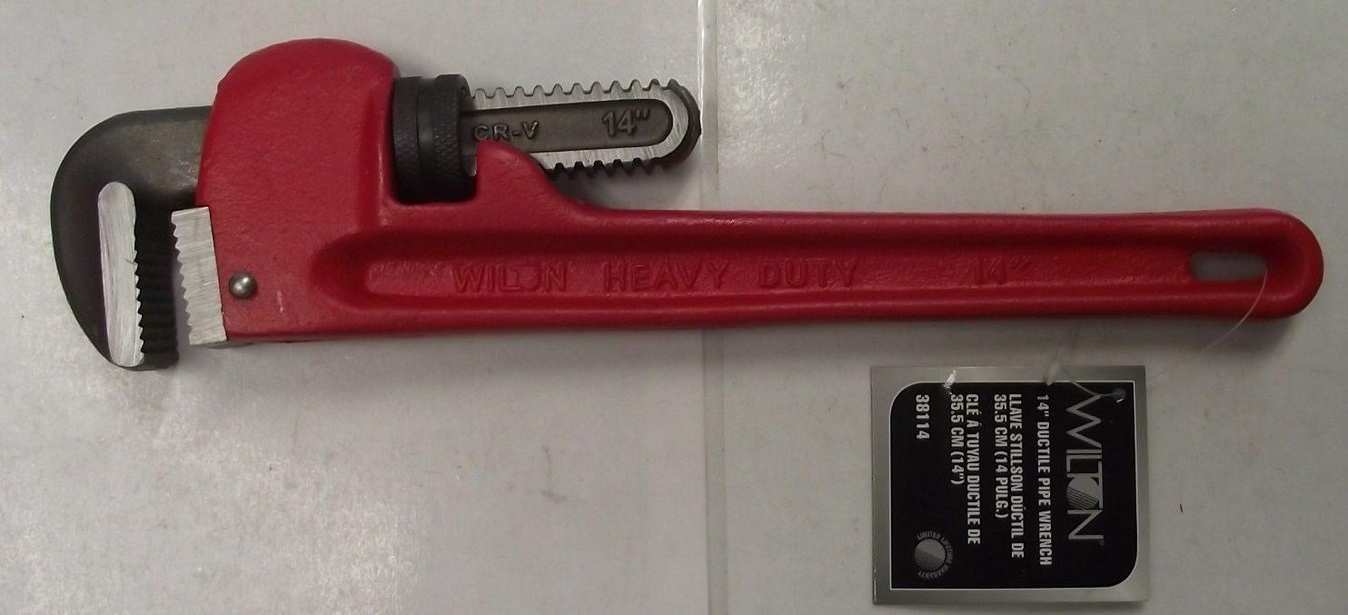 Primary image for Wilton 38114 14-Inch Ductile Pipe Wrench