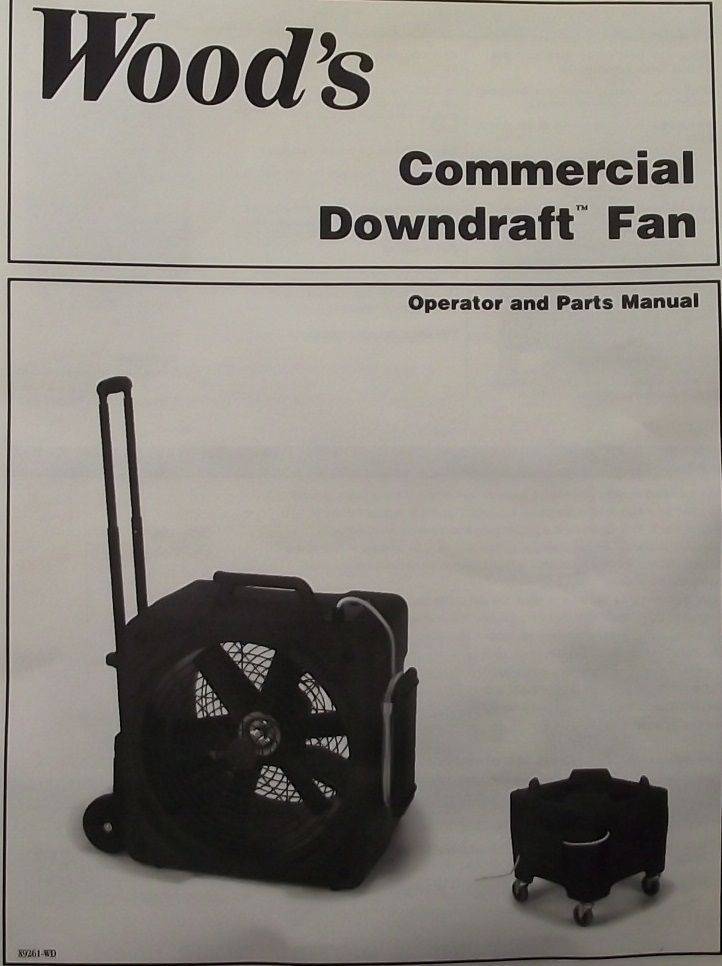 Primary image for Woods Commercial Whole Room Downdraft Drier Air Mover Dryer Fan