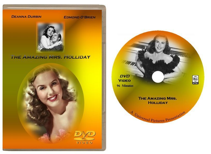 Primary image for The Amazing Mrs. Holliday (1943) DVD - Deanna Durbin -USA Shipping