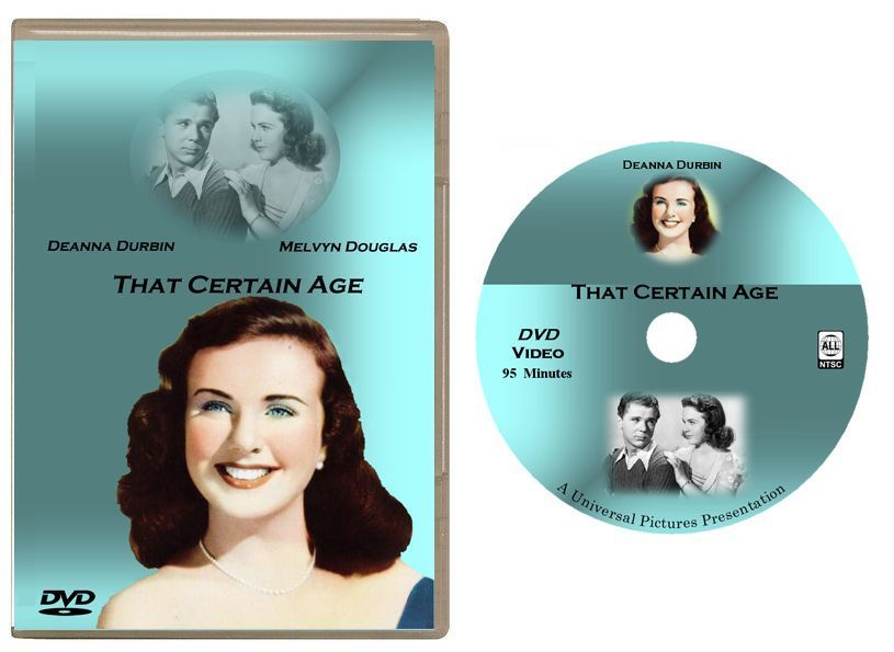 Primary image for That Certain Age (1938) DVD - Deanna Durbin -USA Shipping