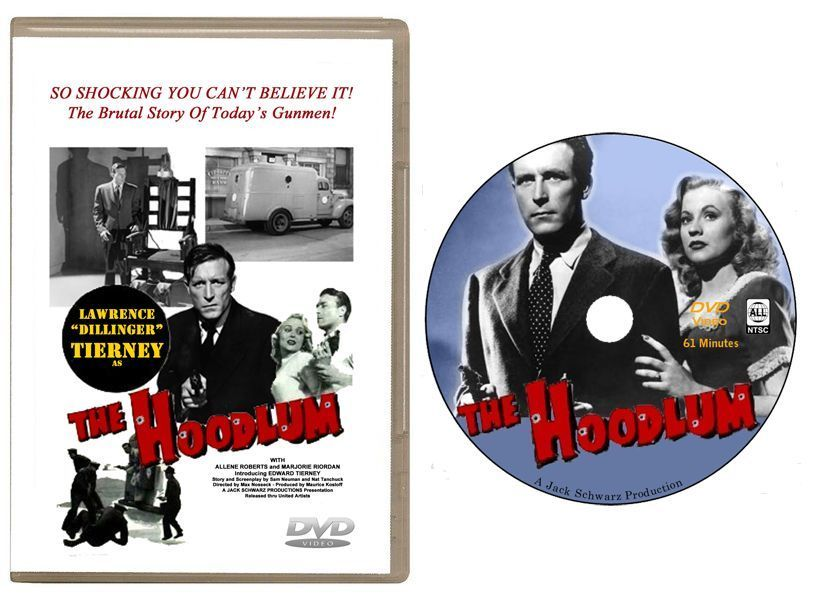 Primary image for The Hoodlum (1951) DVD - Lawrence Tierney, Allene Roberts -USA Shipping