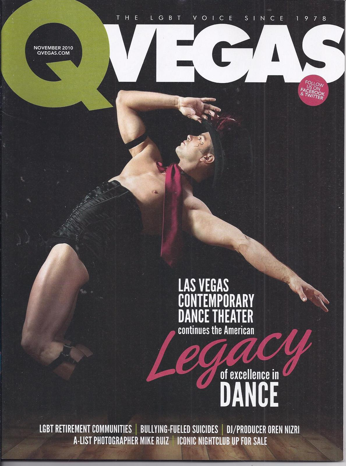 Primary image for The American LEGACY  in QVEGAS Magazine NOV  2010