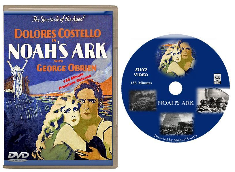 Primary image for Noah's Ark (1928) DVD -  135 minute Premiere Edition -USA Shipping
