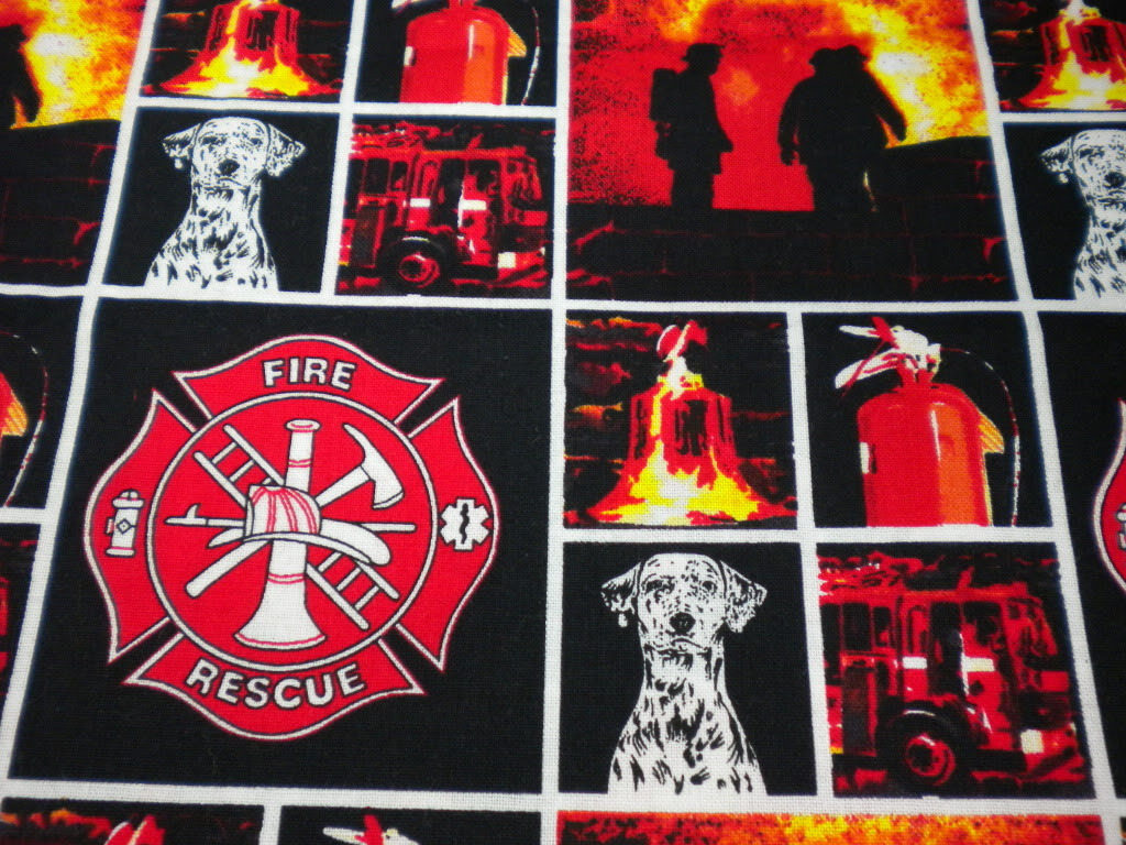 Fire Rescue Magnetic Shell Slipcover Interchangeable Cover for Classic Base Bag