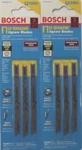"""Bosch U-Shank 3-1/2"""" Progressor Jig Saw Blades U123X3 Bi Metal 2-(3pk) 6-Blades - $4.00"""