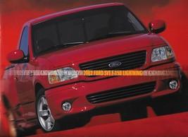 2002 Ford SVT F-150 LIGHTNING deluxe sales brochure catalog 02 NICE - $15.00