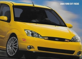 2004 Ford SVT FOCUS deluxe sales brochure catalog 04 NICE - $15.00