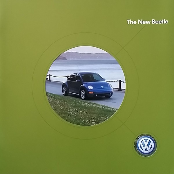 2004 Volkswagen NEW BEETLE brochure catalog 04 VW GLS Turbo S