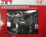 "JET JFRL-12 1/2"" NPT Air Filter Regulator Lubricator"