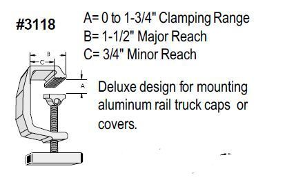Primary image for Tite-Lok Mounting Clamps - TL-118