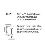 Tite-Lok Mounting Clamps - TL-120 - $10.99