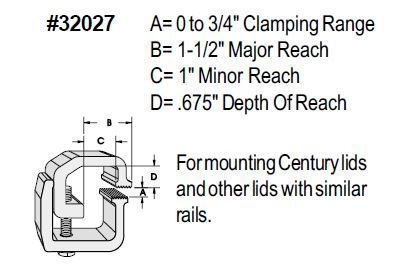 Primary image for Tite-Lok Mounting Clamps - TL-2027