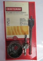 Craftsman 26088 3 piece Door Lock Installation Kit - $5.00