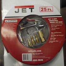 "JET JAH-3825 3/8"" Industrial Air Hose 25ft With Blow Gun & Fittings - $15.80"