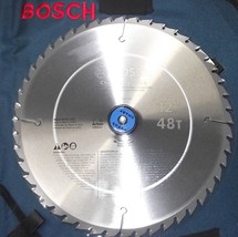 "Bosch 12"" X 48 Tooth TCG Carbide Woodworking Saw Blade PRO1248CHB - $23.03"