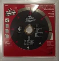 "Vermont American 4"" Segmented Diamond Saw Blade 28604 - $4.50"