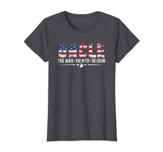 Brother Shirts - Uncle The Man The Myth The Legend Shirt USA Flag Gifts Tees Wow - $19.95+