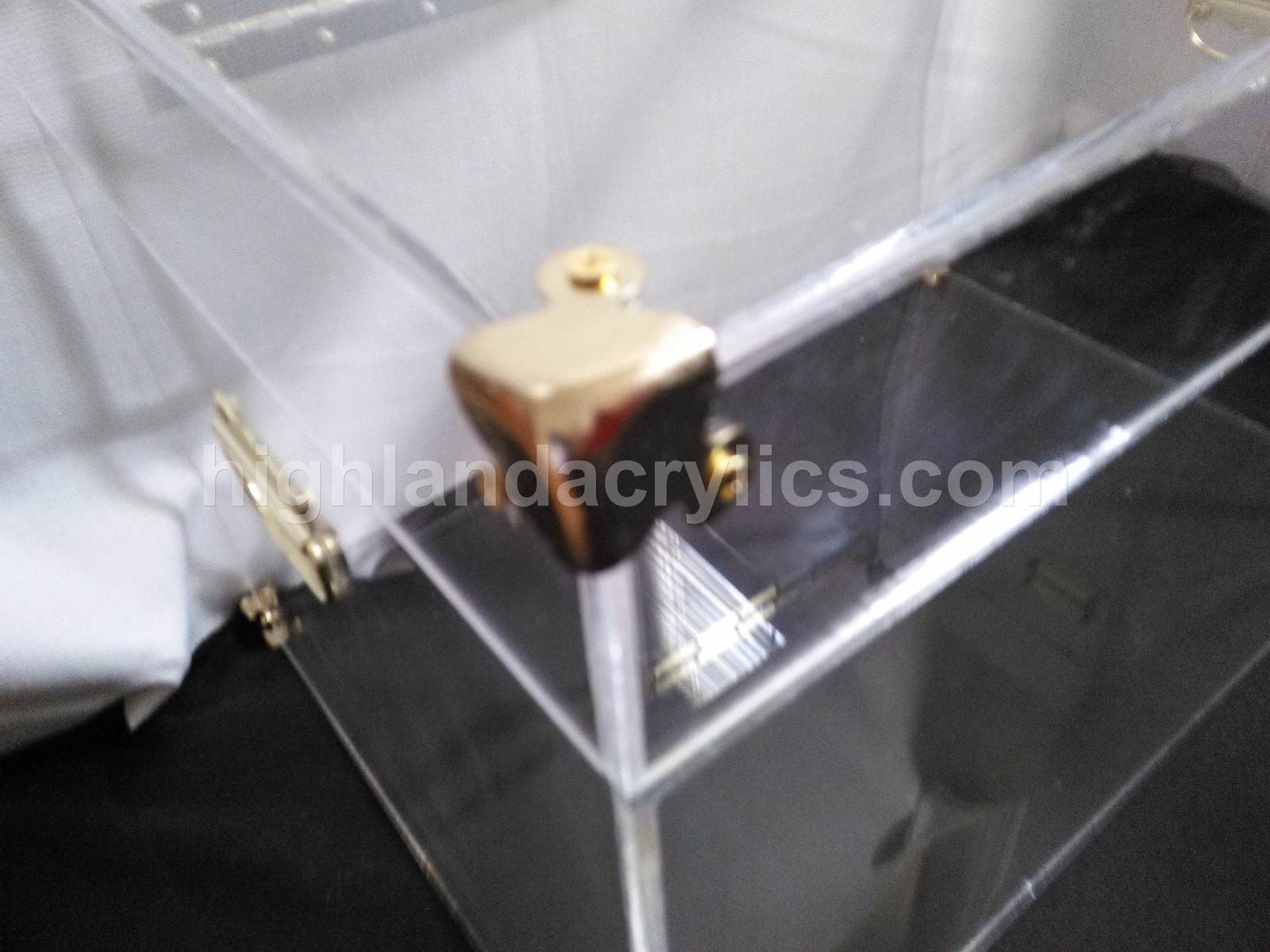 Acrylic Lucite Trunk Chest Custom made to Size Coffee Table - Trunks ...