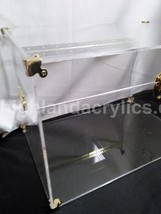 Acrylic Lucite Trunk Chest Custom made to Size Coffee Table - Trunks & Chests