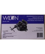 "Wilton 11605 MV6B 6"" Milling Machine Vise with 360 Degree Swivel Base - $172.63"
