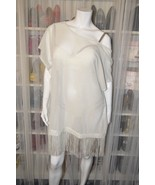 NWT Victoria's Secret Ivory Fringe Swim Cover-up. Medium - $45.00