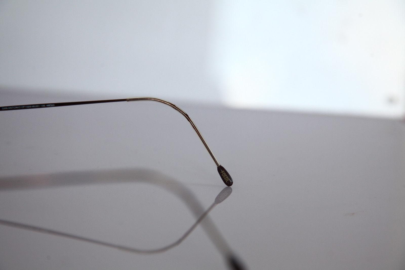 FOSSIL SAN ANTONIO Eyewear, Bronze Frame, RX-Able ...