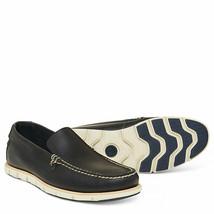 Timberland Tidelands Venetian Slip On Leather Shoe for Men in Navy - $161.29