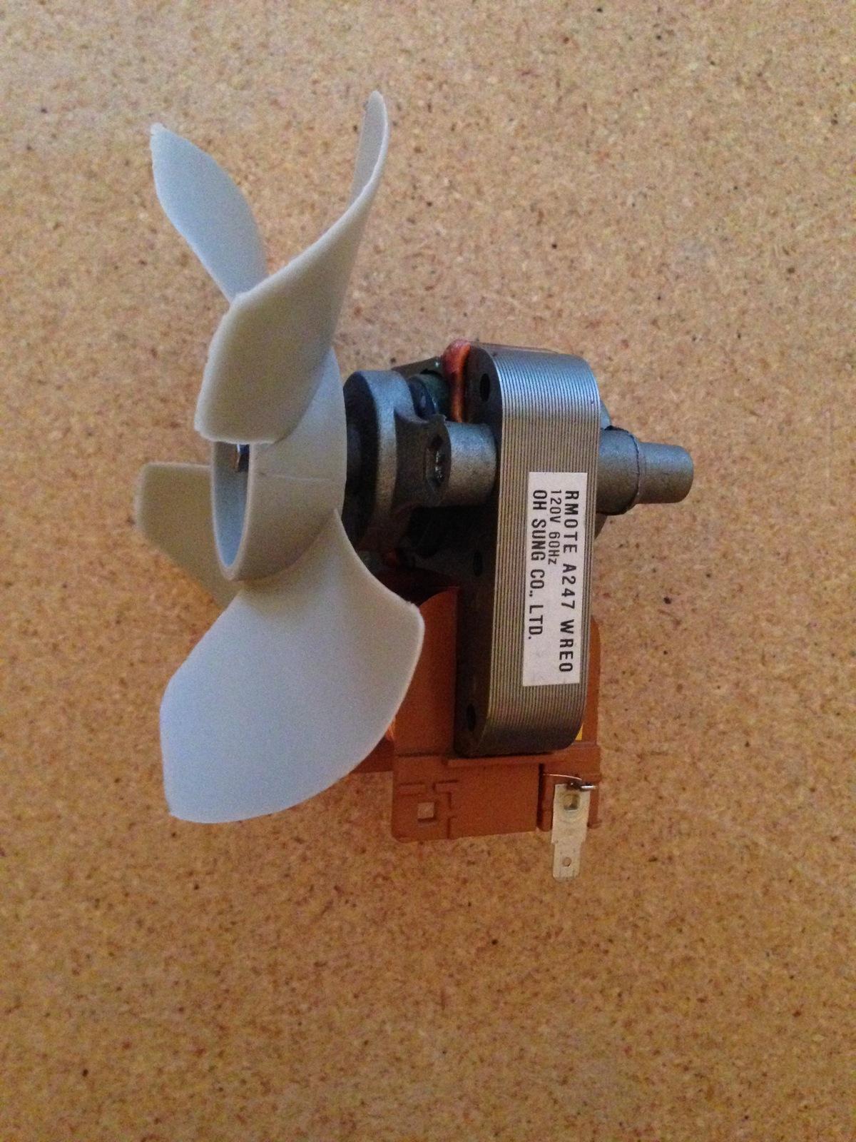 Sharp Microwave Oven OEM Fan Motor Assembly RMOTEA247WRE0 - $24.00