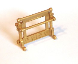 Playmobil Princess Castle Fancy Gold Towel rack... - $2.99