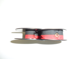 Olivetti MS25 and MS25SP Typewriter Ribbon, OEM, Black and Red, Package of Three image 2