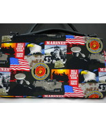 USA Marine Corps Magnetic Shell Slipcover Cover Classic Base Bag Shelly ... - $45.99