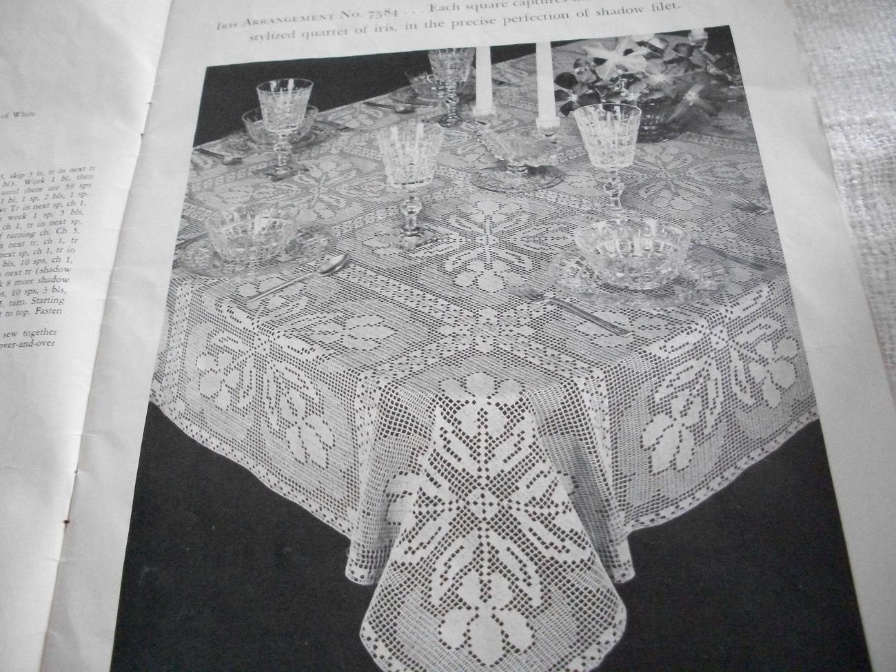 New Table Topics Crochet Pattern Book
