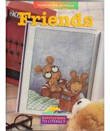 """Friends"", Invitations to Literacy, 1996 Hardcover - $3.00"
