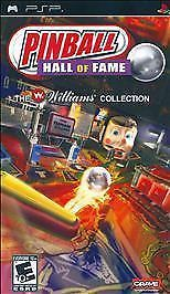 Primary image for Pinball Hall of Fame: The Williams Collection  (Sony PSP, 2008) Complete