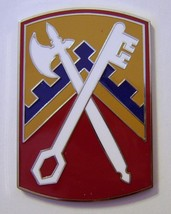 Army Csib - 16th Sustainment Brigade Combat Service Identification BADGE:K6 - $13.95