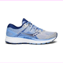 Saucony Women's Omni ISO Running Shoes Silver/Blue/Navy - $114.30