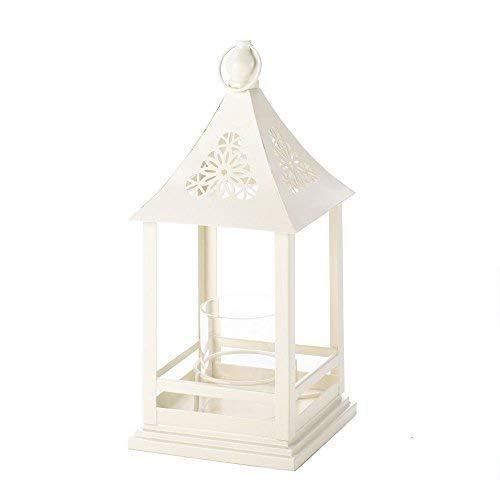 Gallery of Light Outdoor Candle Lanterns White, Large Decorative Iron Lantern Ca