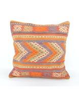 18x18 inch kilim pillow case rug pillow home decor,turkish pillow,kelim ... - $19.00