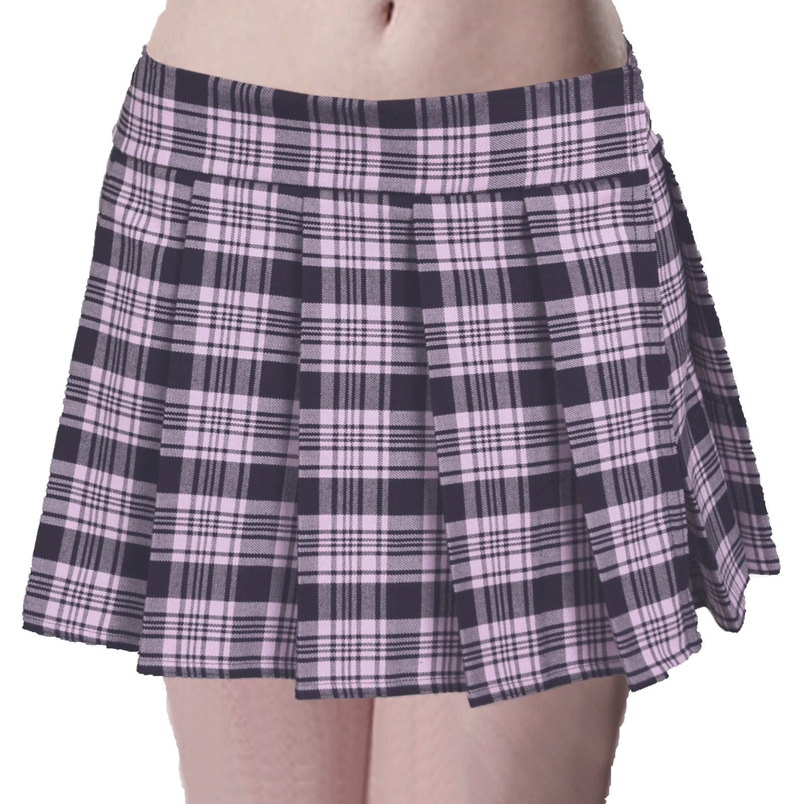 8d758d9b07 Musk PINK/BLACK Schoolgirl Plaid Tartan and 35 similar items