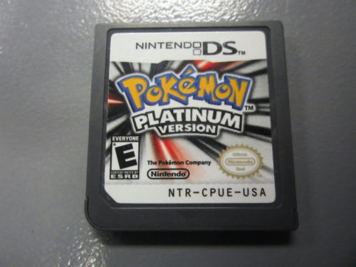 POKEMON Platinum ! Nintendo Ds, DSi, 3ds, dsXL! Used game cartridge only! WORKS