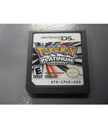POKEMON Platinum ! Nintendo Ds, DSi, 3ds, dsXL! Used game cartridge only! WORKS  - $15.99