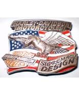 Vintage Harley-Davidson Supremacy by Design Belt Buckle by Baron ©1994 - $50.00
