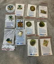 12) Oakland Athletics Baseball Pin Mlb Unocal 76 Free Ship Vgc - $37.80