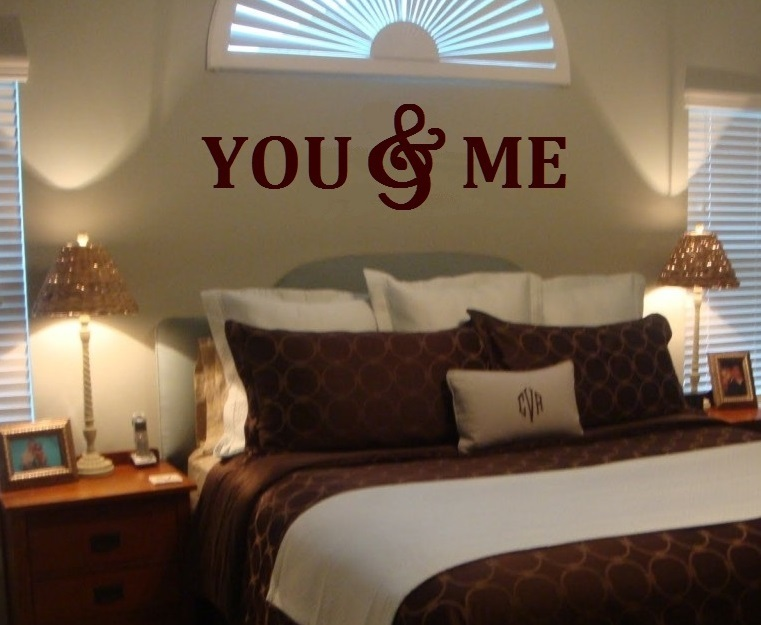 Primary image for YOU & ME Wood Letters,Wall Décor-Painted Wood Letters