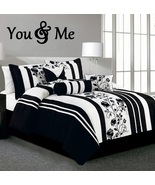YOU & ME #2 Wood Letters,Wall Décor-Painted Wood Letters - $85.00