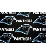 Carolina Panthers Cotton Fabric Scrap 12 x 12 - $1.00