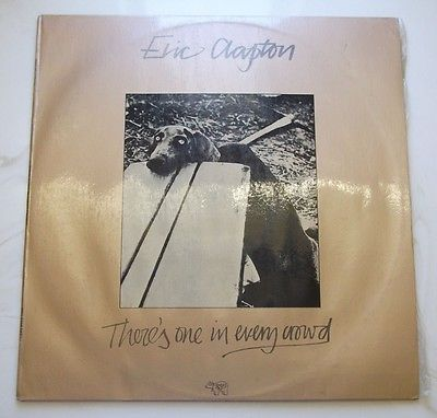 "Primary image for VINTAGE ERIC CLAPTON THERE'S ONE IN EVERY CROWD 12""VINYL LP RECORD-ALBUM-OLD-VTG"