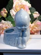 Vintage Shawnee Blue Kewpie Pottery Planter, 1950s Baby Boy Gift, Vintag... - $48.99