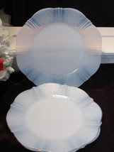 """Vintage American Sweetheart Monax Lunch Plate, Depression Glass, 8"""" Size - $19.99"""