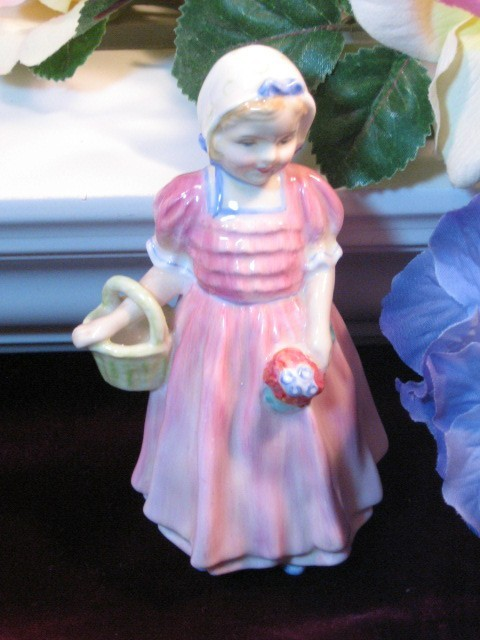 Primary image for Vintage Royal Doulton China Porcelain Tinkle Bell Figurine, 1930 Made in England